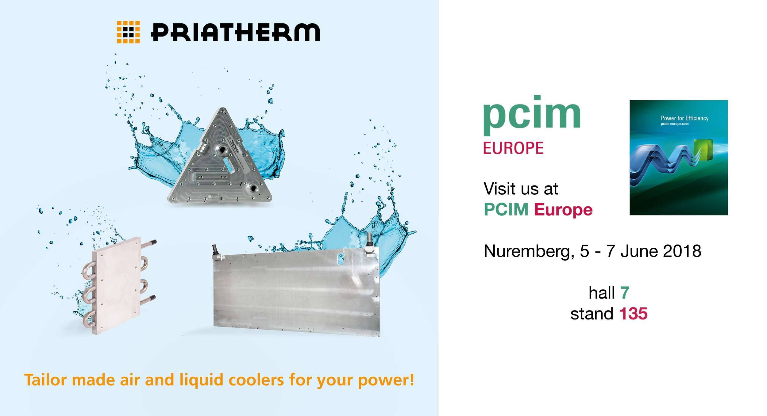 Find us at PCIM Europe