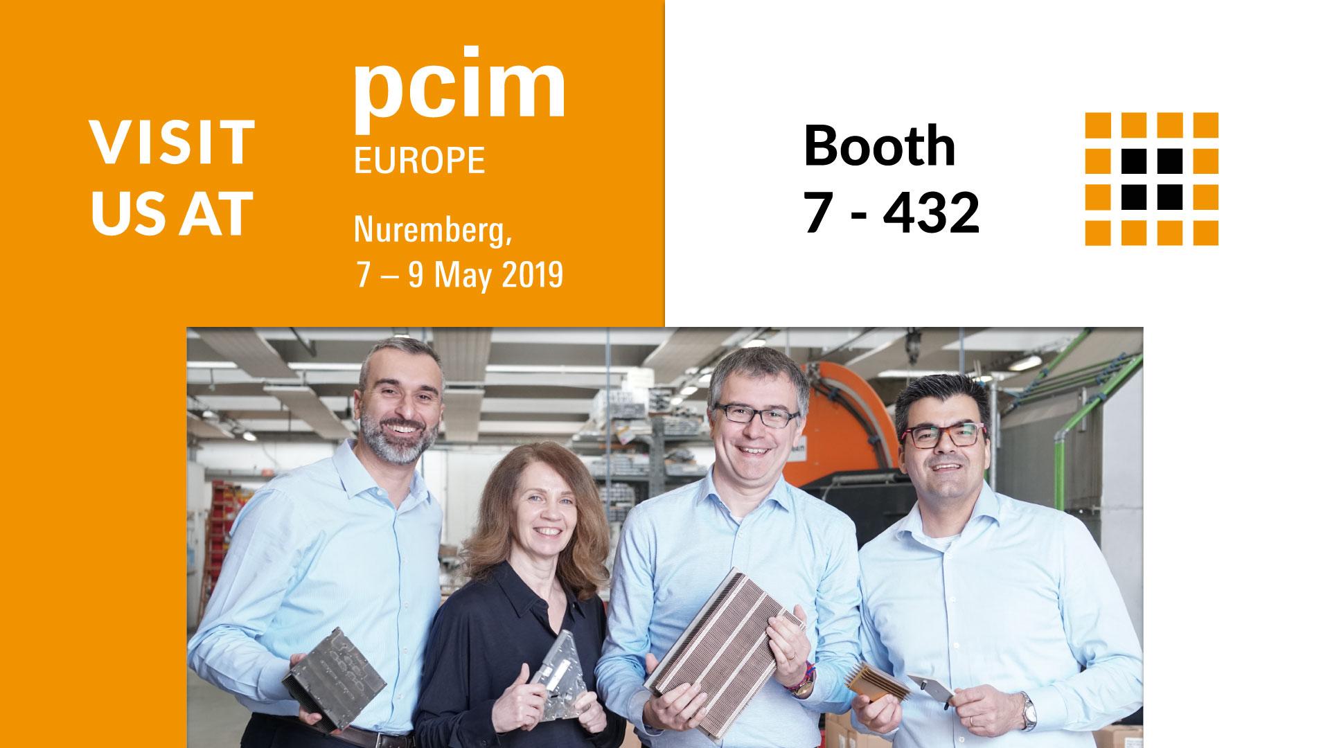Visit us at PCIM Europe!